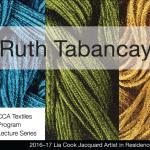 Ruth Tabancay – Oct. 11, 12-1PM